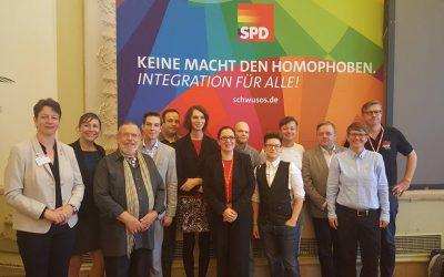 Bericht von der Bundeskonferenz der Schwusos in Schwerin