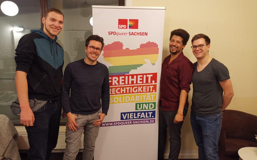 Die SPDqueer Sachsen wählt einen neuen Landesvorstand